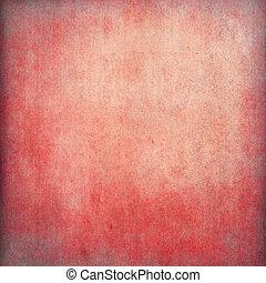 Trasfondo de papel grunge rojo con espacio de copia