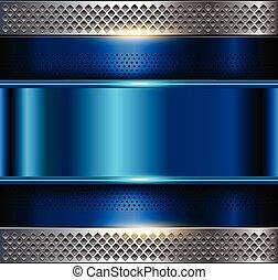 Trasfondo de placas metálicas