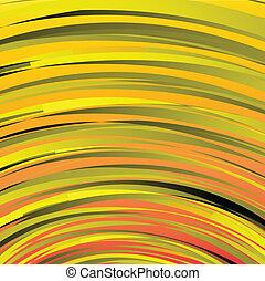 Trasfondo de rayas naranjas para textura de arte o diseño de telaraña y fondo vertical.