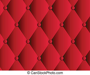 Trasfondo de tapicería de cuero rojo