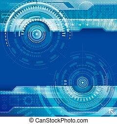 Trasfondo de tecnología abstracto