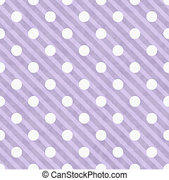 Trasfondo de tela de lunares púrpura y blanco