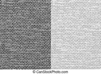 Trasfondo de tela lino de tela abstracto. Vector.