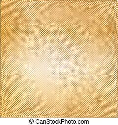 Trasfondo de textura de metal dorado. Ilustración de vectores