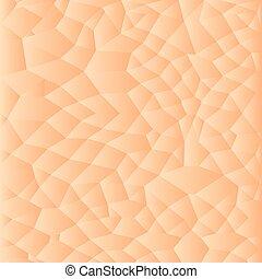 Trasfondo de textura humana, ilustración de patrones vectores