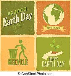 Trasfondo del día de la Tierra