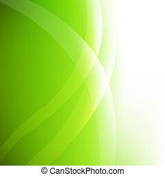 Trasfondo ecológico abstracto verde