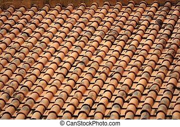 Trasfondo en el techo