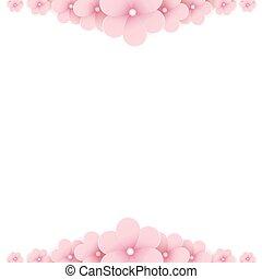 Trasfondo floral rosa