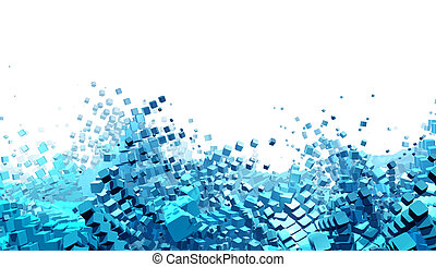 Trasfondo futurista abstracto