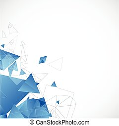 Trasfondo futurista abstracto para el diseño