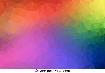 Trasfondo geométrico abstracto de poligon.