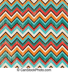 Trasfondo geométrico de zigzag sin fondo