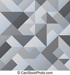 Trasfondo geométrico gris