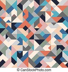 Trasfondo geométrico sin color