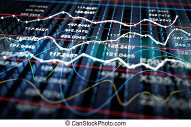 Trasfondo gráfico de la Bolsa