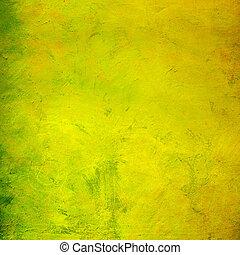 Trasfondo grunge amarillo