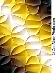 Trasfondo marrón amarillo con patrón abstracto