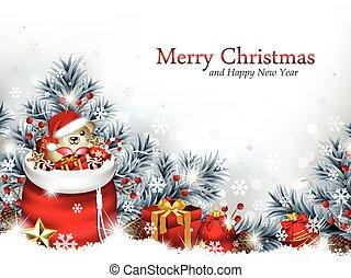 Trasfondo navideño