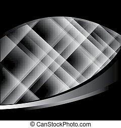 Trasfondo negro abstracto