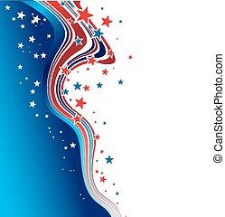 Trasfondo patriótico del día de la independencia