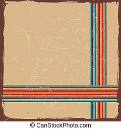 Trasfondo retro geométrico