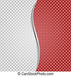 Trasfondo rojo blanco