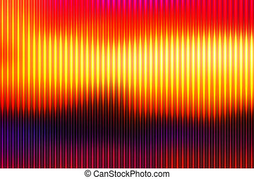 Trasfondo rojo morado naranja y amarillo con líneas claras