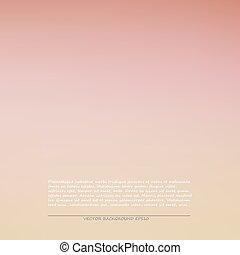 Trasfondo rosado suave, ilustración vectorial