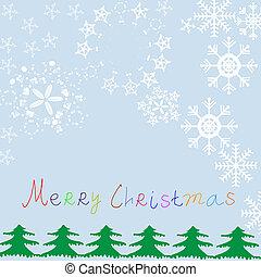 Trasfondo vector de Navidad, ilustración con espacio para tu texto.