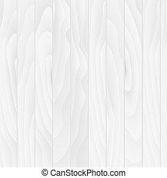 Trasfondo vector de textura de madera blanca