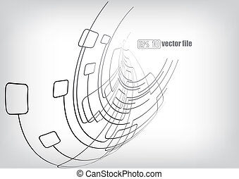 Trasfondo vector, líneas, circuitos