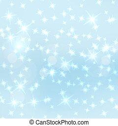 Trasfondo vectorial abstracto con estrellas brillantes.