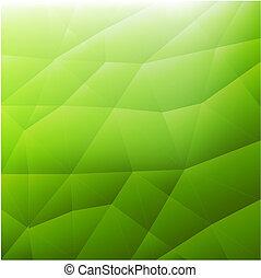 Trasfondo verde abstracto moderno
