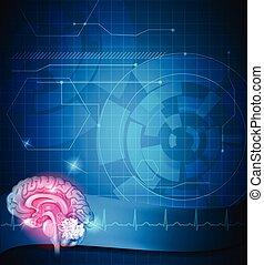 Tratamiento cerebral humano