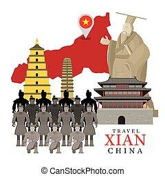 Travel Xian, China