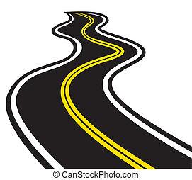 Trazando carretera
