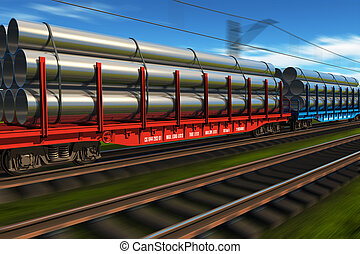 Tren de carga de alta velocidad