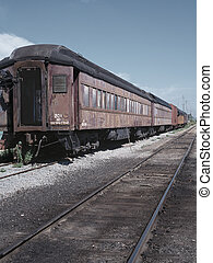 Tren retro