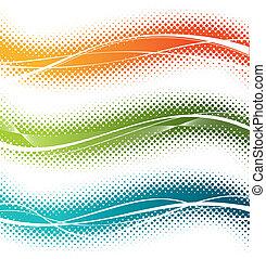 Tres elementos de diseño del vector medio