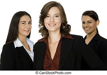 tres, empresarias