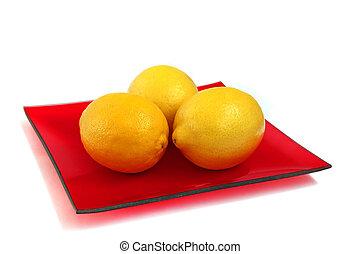 Tres limones