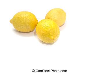 Tres limones.