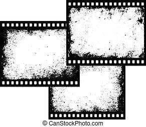 Tres marcos de película