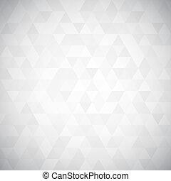Triángulo digital pixel mosaico