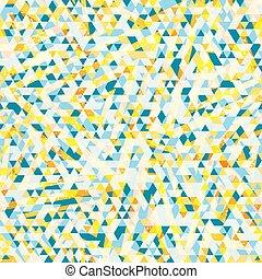 triángulo, resumen, seamless, texture.
