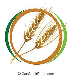 trigo, icono