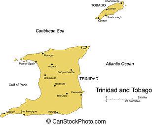 trinidad, tobago, isla, capital