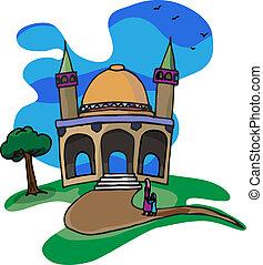 Trip a una pequeña mezquita