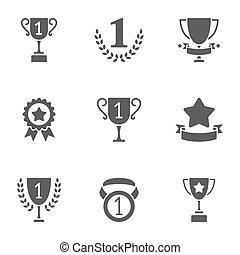 Trofeo y premios iconos